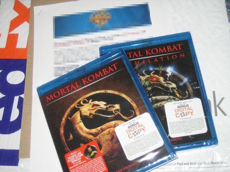 Both MK Blu-Rays Unopened